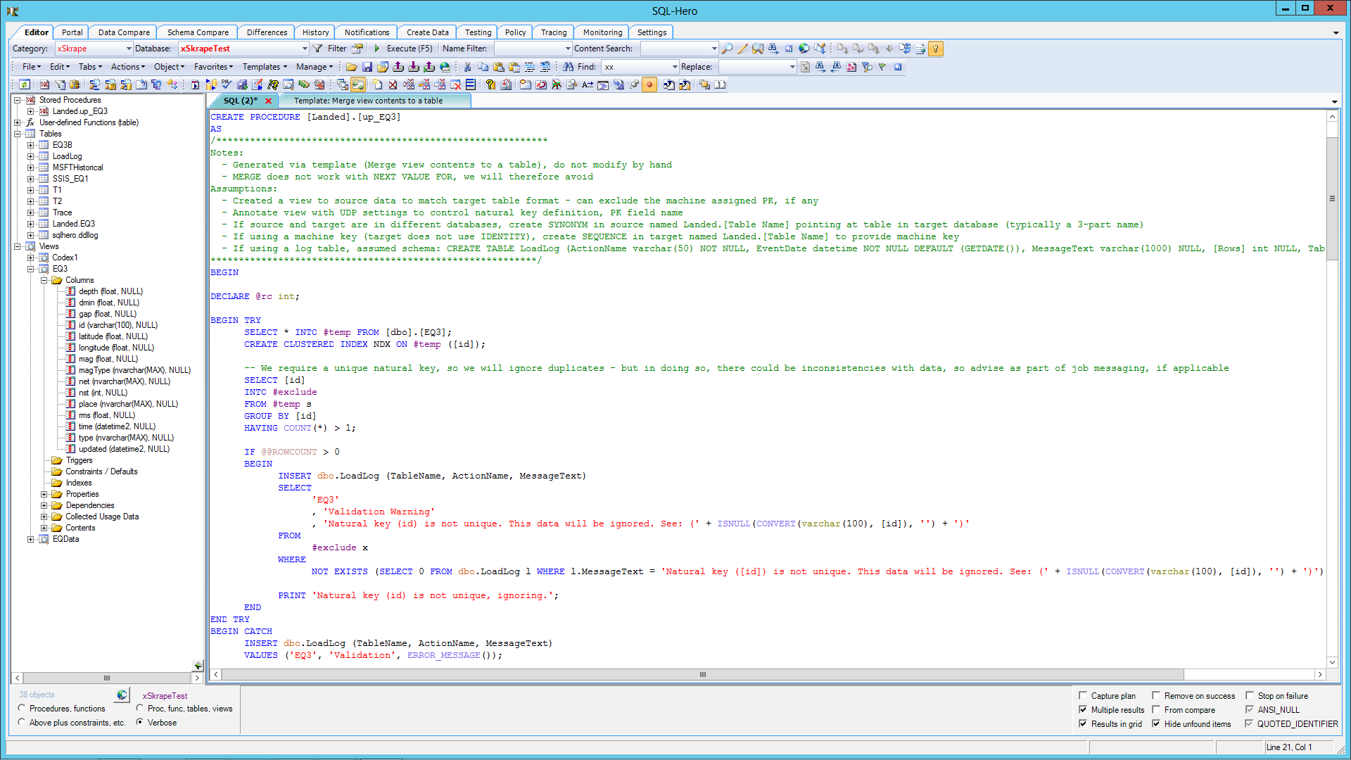 CodeX: SQL-Hero